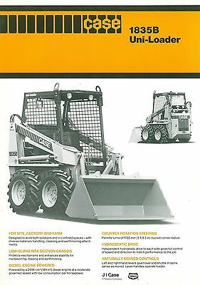 Case 1835B Uni-Loader Specification Brochure
