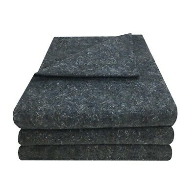 "3 Textile Moving Blankets 54x72"" Professional Quality Moving Skins 1.66lbs Each"
