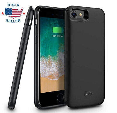 iPhone 5 5S SE Slim External Portable Power Bank Battery Case Charger Cover USA