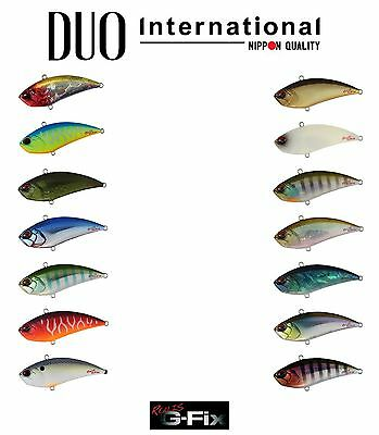 DUO Realis Vibration G-Fix Lipless Crankbait Lure - Select Size/Color