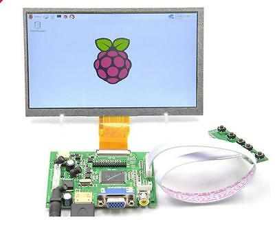 "9""  9 inch TFT LCD Display Module HDMI+VGA+2AV Driver Board for Raspberry Pi"