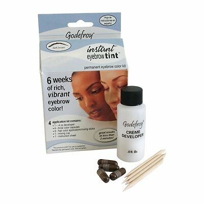 Godefroy Professional Permanent Eyebrow Tinting/colouring Kit *4 Applications*
