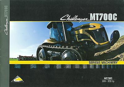 2009 Caterpillar Challenger Mt700C Brochure
