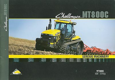2009 Caterpillar Challenger Mt800C Brochure