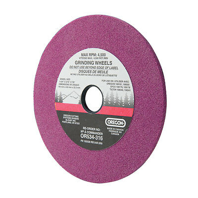 """Oregon Grinding Wheel OR534-316A 3/16"""" Inch Chainsaw Sharpening"""