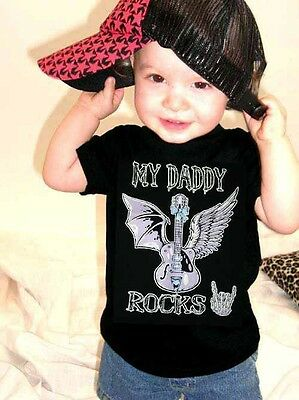 Sugar Shock MY DADDY ROCKS Kids T-Shirt