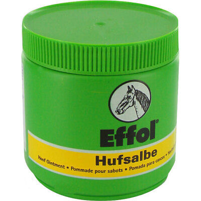 NEW Effol Hoof Dressing Ointment Grease Natural Oils for horse GREEN Clear 450g