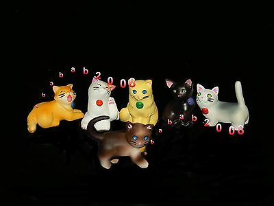 Takara Tomy kitten pet cat part.4 gashapon figure ( full set of six figures)
