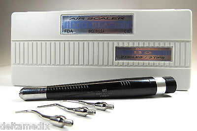 Dental B2 Air Scaler Handpiece 2 Holes With 3 Tips Made In USA MTI Original