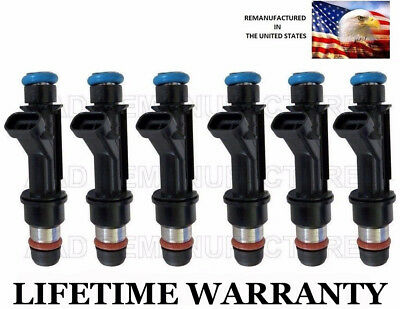 Impala Genuine Delphi 6x Fuel Injectors for Chevy Camaro Monte Carlo 3.8L