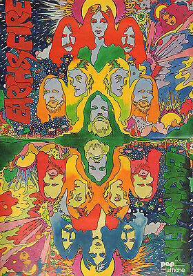 Poster Earth & Fire 1973 (Comes From Dutch Comic Magazine Pep)