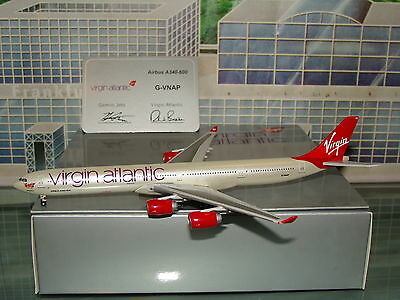 Gemini Jets Virgin Atlantic A340 - 600 G-VNAP N/C 1/400 With Stand **Free S&H**