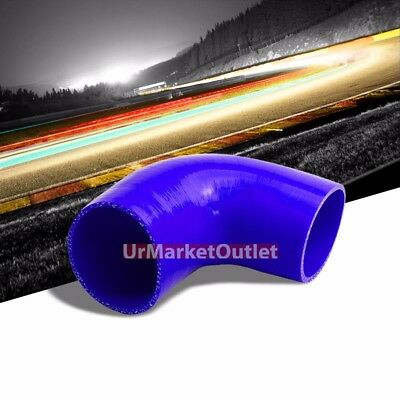 """SILICONE ELBOW COUPLER 90 DEGREE 3 1//8/"""" 3.125/"""" BLACK Race 5 PLY INTAKE TURBO MBS"""