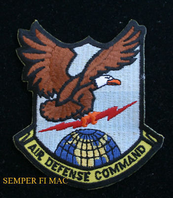 AIR DEFENSE COMMAND ADC HAT PATCH NORAD US AIR FORCE PIN UP AFB CONAC ENT AFB