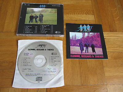 JANCREE Clowns Beggars & Thieves 1992 GERMANY CD issue