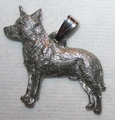 Australian Cattle Dog Harris Fine Pewter Pendant USA Made