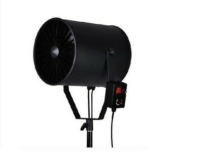 Wind Machine Stage Theatre Photo Video Studio Fan Blower Dimmable Photography