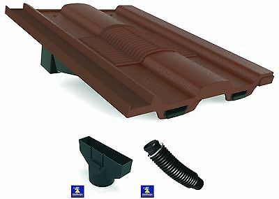 Marley Ludlow Major Roof Tile Vent Adaptor & Flexipipe   Colour Choice