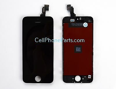 OEM iPhone 5C Black Digitizer LCD Front Glass Screen Assembly Replacement
