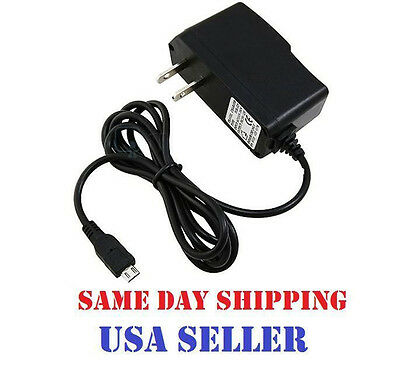 Micro USB Replacement Home Wall Charger for Tracfone LG 440G LG440G Flip Phone