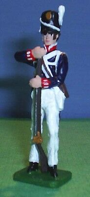 TOY SOLDIERS METAL NORTH AMERICAN WAR OF 1812 AMERICAN SOLDIER loading  54MM