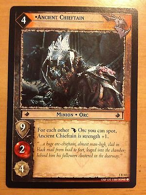 Lord of the Rings CCG Fellowship 1R163 Ancient Chieftain LOTR TCG