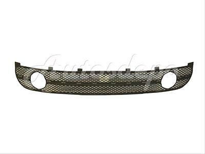 Left front bumper lower grille with fog lights hole fitsNissan Note E11 06-2008