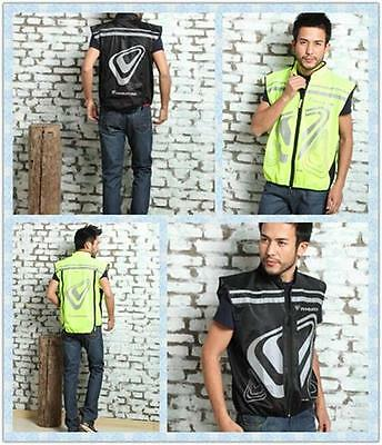 TWOZERO VERSO VESTS Tanks REFLECTIVE Sports Bicycle Extend Motorcycle Clothing
