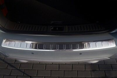 stainless steel boot sill protection for Ford C-MAX from yr 2010