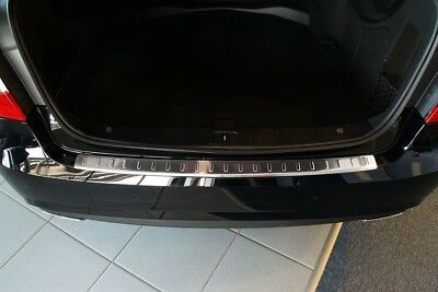 Stainless Steel Boot Edge Protector compatible with Mercedes E-Class W212 Saloon