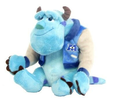"Official Brand New 8"" Sulley Monsters Inc University Sully Plush Soft Toy"