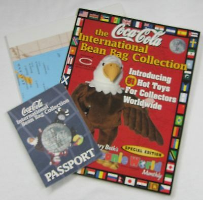Coca-Cola Bean Bag International Collection Travel Package - NEW