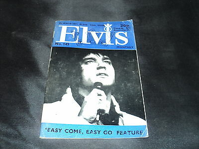 Elvis Monthly - Issue 145 February 1972