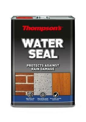 Ronseal Thompsons Water Seal Protector Bricks Mortar & Concrete - 5 Litre