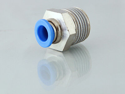 NPT Imperial Male Stud Push in Fittings, a Range of NPT Threads & Imperial Push