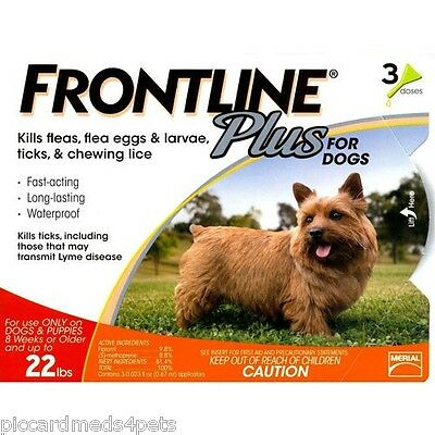 Frontline Plus EPA Multiple dosing kit for Dogs 0-22 18 months or Cats 24 months