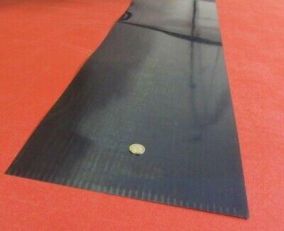 """Blue Tempered Spring Steel Shim 0.050"""" Thick x 12.375"""" Width x 36"""" Length"""