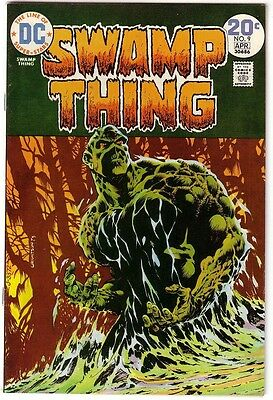 Swamp Thing #9,high Grade Collection,nice Pages!
