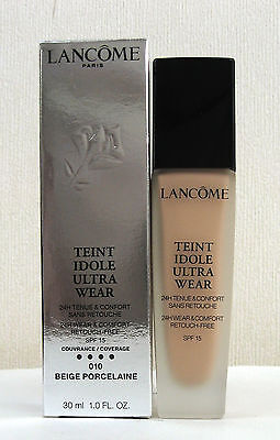 Lancome Teint Idole Ultra 24H Foundation -30ml - Beige Porcelane - 010 - Boxed
