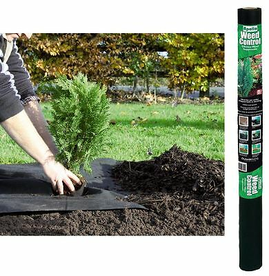 APOLLO WEED GROUND FELT FABRIC PROTECTOR SUPPRESSANT CONTROL 20m X 1m