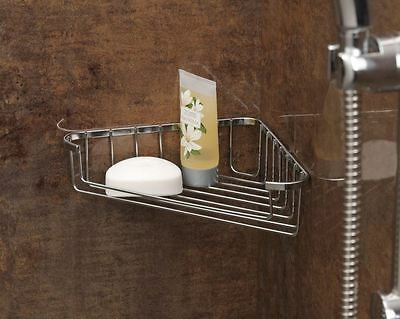 Chrome Plated Shower Bath Corner Soap Tray Holder