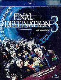 James Wong's Final Destination 3(NEW Blu-Ray)Mary Elizabeth Winstead, Ryan Merri