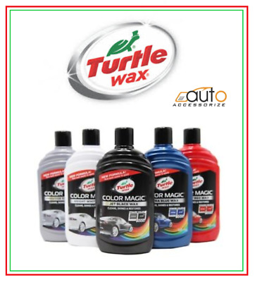 New Turtle Wax Colour Magic Plus Enhancing Car Polish With Touch Up Chipstick