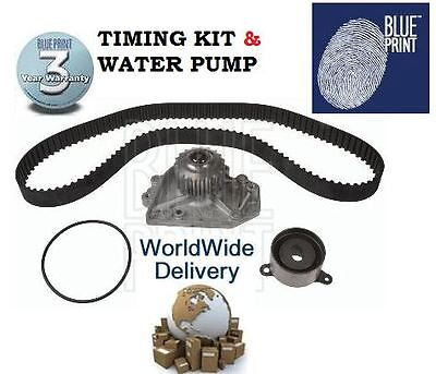 For Honda Crv 2.0 16V 1997-2002 Timing Cam Belt & Tensioner Kit & Water Pump Set