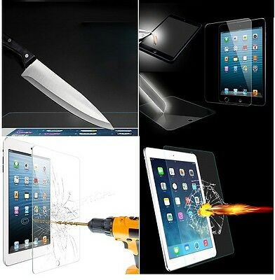 Real Premium Tempered Glass Film Screen Protector For Apple iPad 1/ 2 / 3 / 4