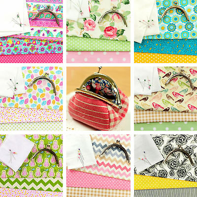 EXCLUSIVE | Coin Purse | Sewing Pattern | Craft Kit Fabric Bag Instruction FUN!!