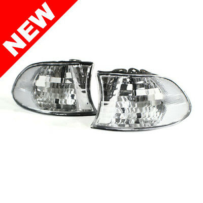 99-01 Bmw E38 7-Series Oem Factory Style Euro Corner Lights - Clear