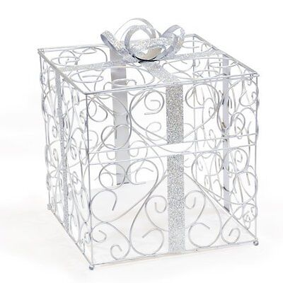 Metal Decorative Wedding Gift Card Holder Box