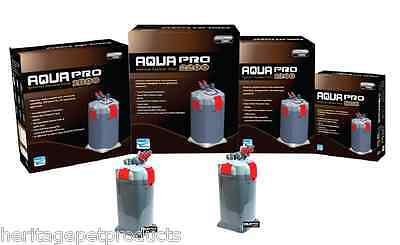 Aqua Pro External Filter Fish Tank Aquarium Water Canister Filters Filtration