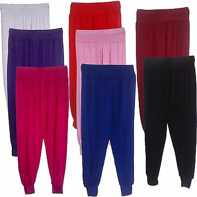 NEW Girls LOVELY Harem Pants/Trousers/Baggy Ali Baba Leggings/Bottom 7-13yrs #82